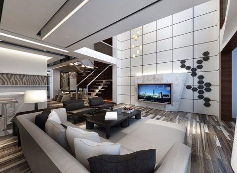 2020现代简约150平米效果图 2020现代简约别墅装饰设计