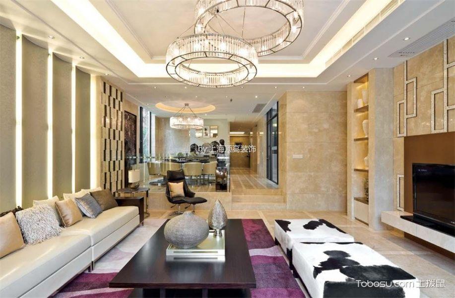 上海现代简约别墅装修效果图