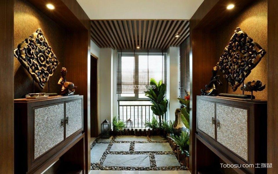 名湖豪庭珑御东南亚风格家居装修效果图