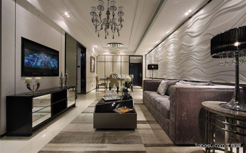 2019古典90平米效果图 2019古典二居室装修设计