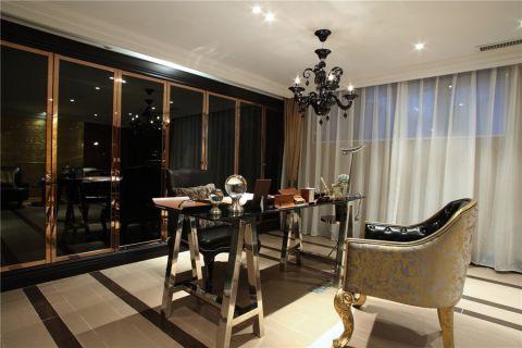 善水湾110平二室一厅豪华美式风装修案例
