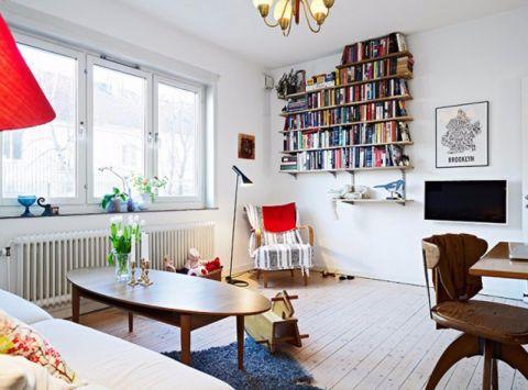 北欧风格两居室装修