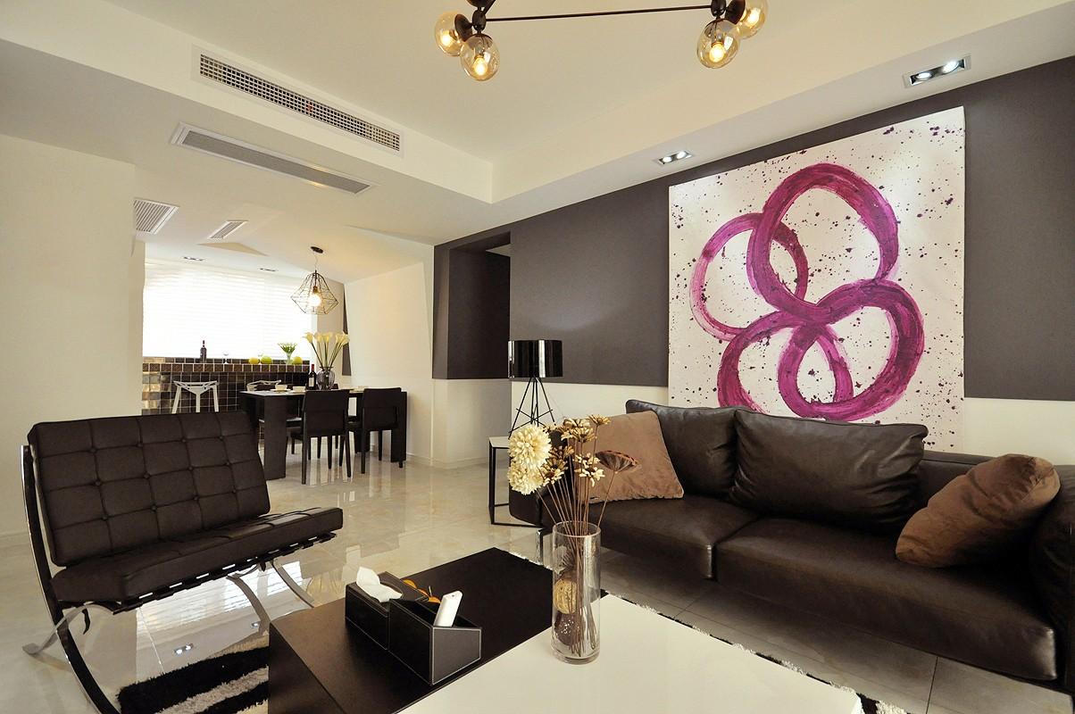 2室1卫1厅68平米现代简约风格