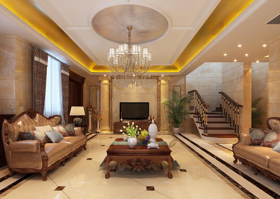 4室2卫3厅260平米现代欧式风格