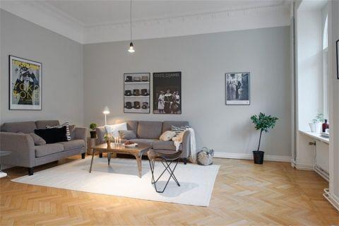 北欧风格三居室装饰效果图