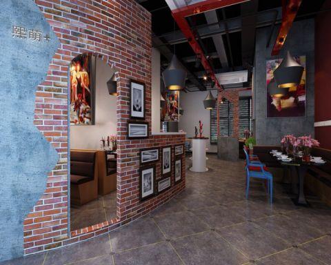 披萨茶餐厅装修效果图