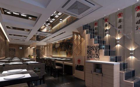 南开区韩国料理店装修效果图