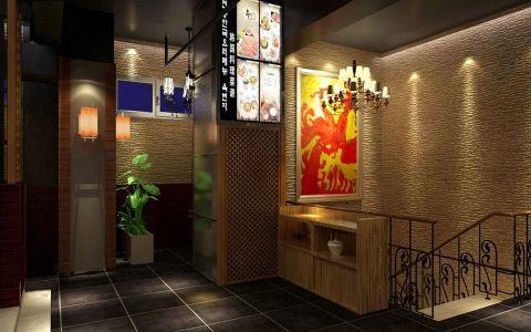 韩国料理店装修效果图