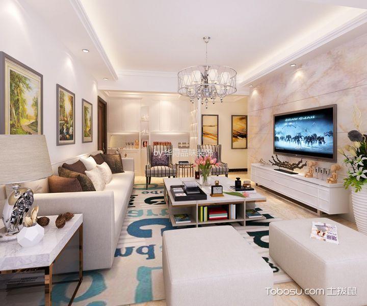 香樟美地现代风格套房装修设计