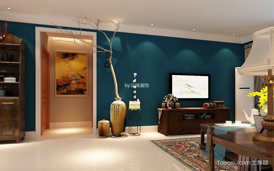 127平简美三居室装修设计