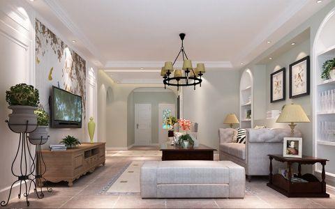 2020美式110平米装修图片 2020美式二居室装修设计