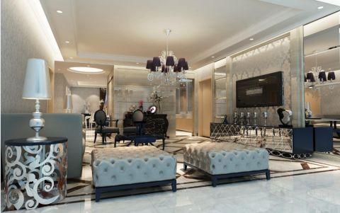 星光耀简欧风格三居室装修设计