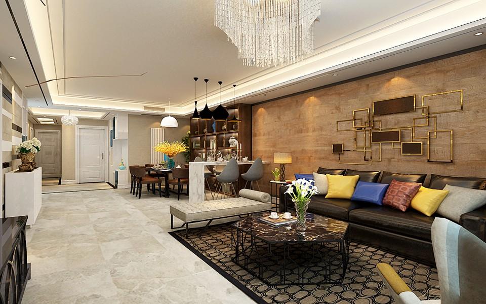 4室2卫2厅160平米现代简约风格