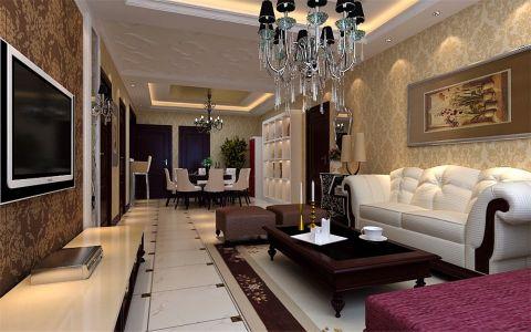简欧风格三居室设计样板房