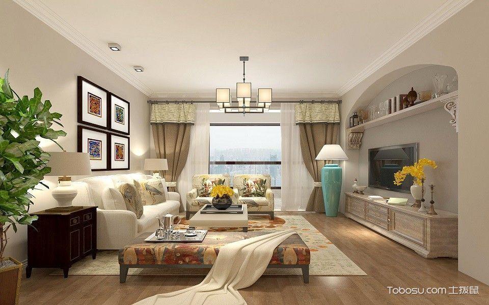 两居室混搭风格装修效果图