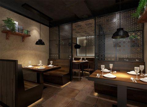 郑州二七万达第三空间餐厅装修效果图