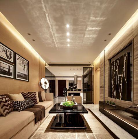 现代简约风格小户型家居装修案例图片