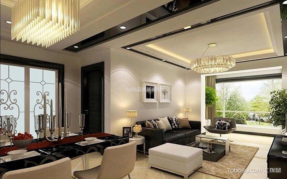 后现代风格家庭两居装修效果图