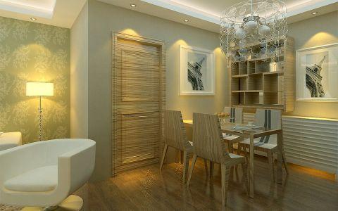 七里香榭三室两厅韩式风格装修效果图