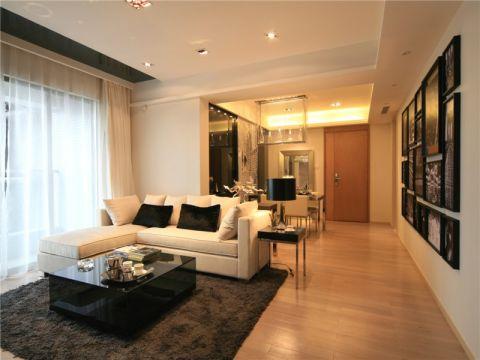 后现代风格家庭三居装修案例图片