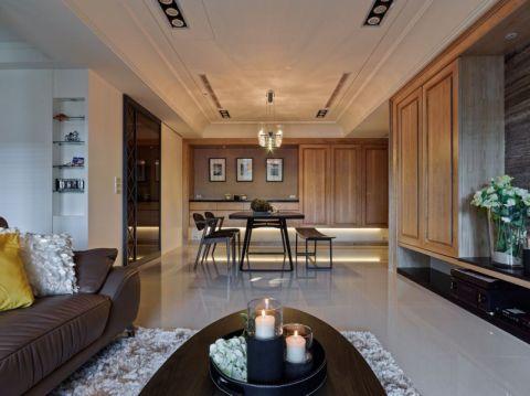 109平简约休闲风格新房装修设计