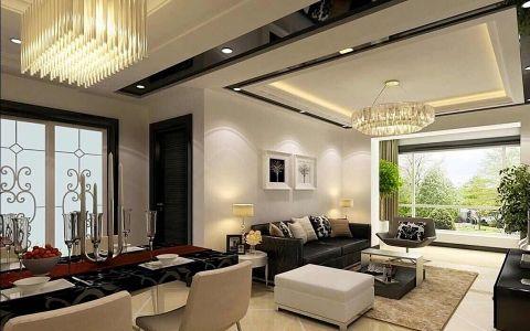 2019后现代90平米效果图 2019后现代二居室装修设计