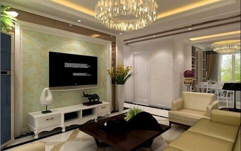 四室两厅家居简欧风格装修效果图