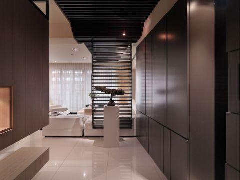 120平三室两厅现代简约装修图片案例