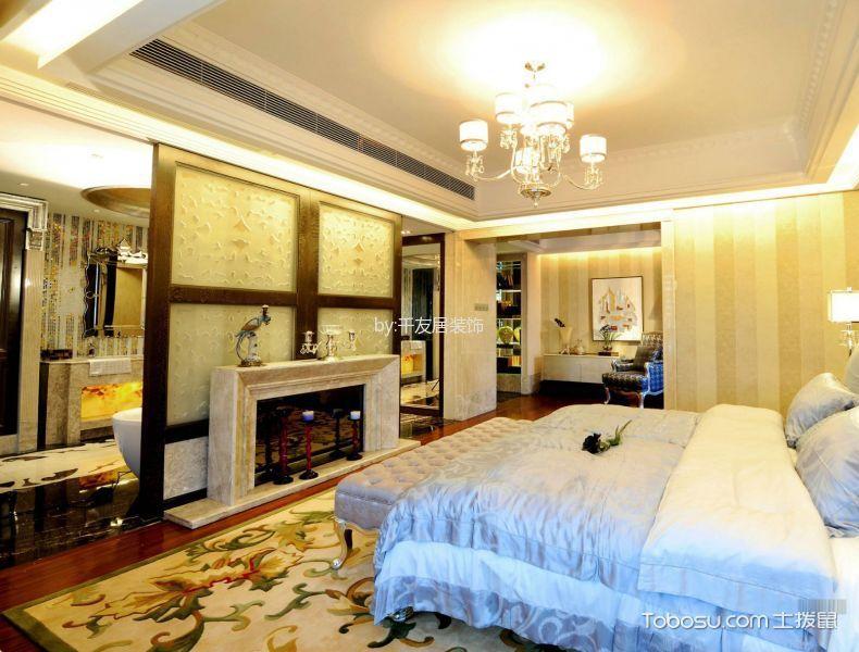 卧室白色灯具新古典风格装饰图片