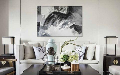 高科荣境新中式风格两居室装修设计图