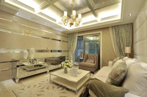 新古典风格现代家居装修案例图
