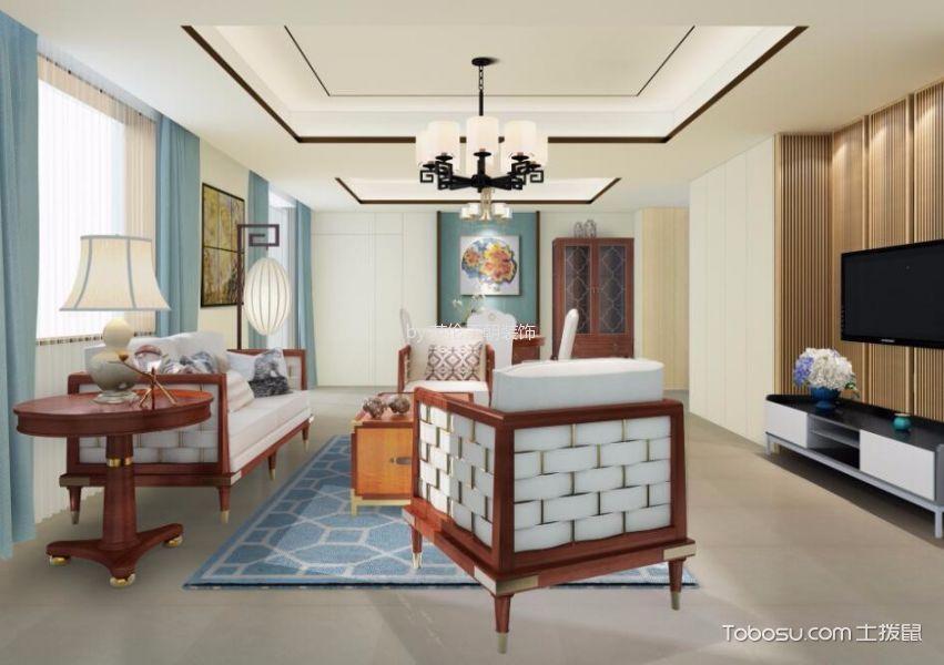 新中式混搭风格家居设计图