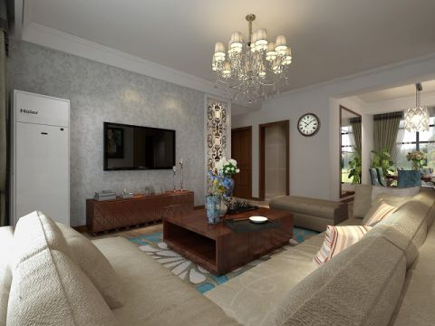 2021现代简约110平米装修图片 2021现代简约套房设计图片