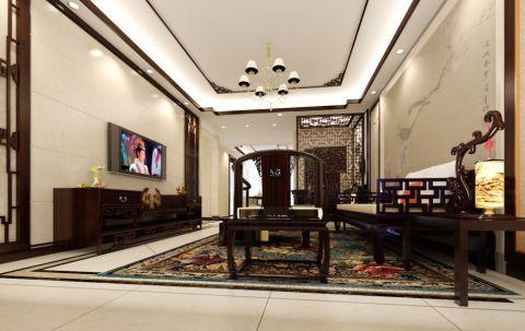 新中式风格三居室装修设计