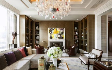 瑞安君汇现代新古典风家居设计案例