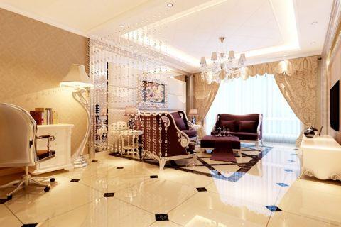 2021简欧90平米效果图 2021简欧二居室装修设计