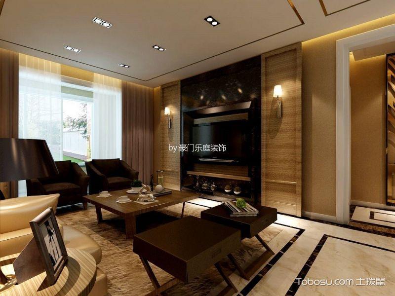 现代简约风格三居室案例图片