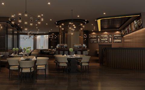 喜尔宾酒店港润咖啡厅装修效果图