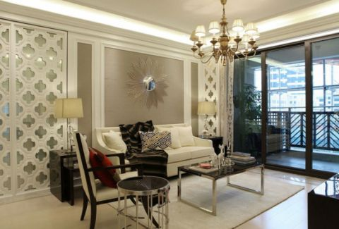2020现代欧式150平米效果图 2020现代欧式三居室装修设计图片