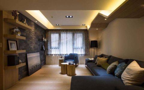 2020简约70平米装修效果图大全 2020简约三居室装修设计图片