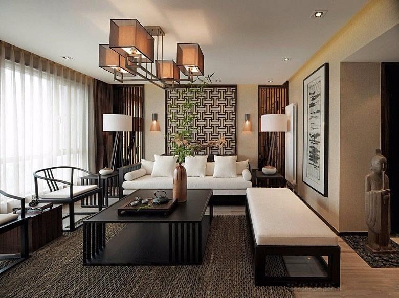 4室2卫2厅141平米中式风格
