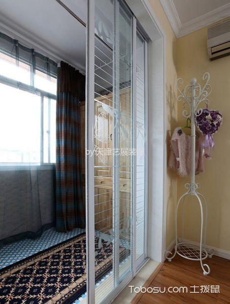 卫生间白色隔断地中海风格装修效果图