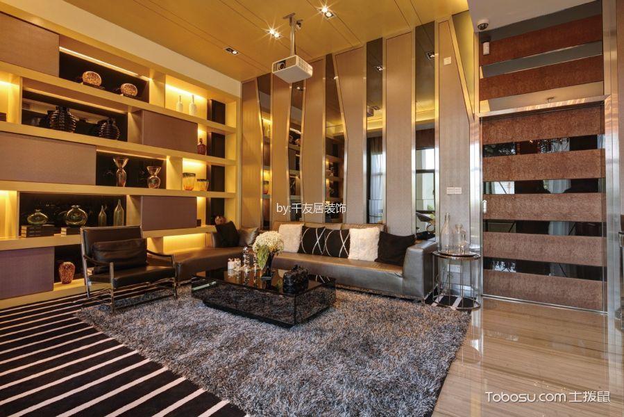 现代风格奢华主义跃层家居装修效果图