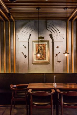 时尚典雅酒吧装修效果图