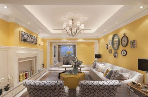 欧式三居室温馨家庭装饰图