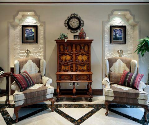 古典风格家庭跃层装修实景图