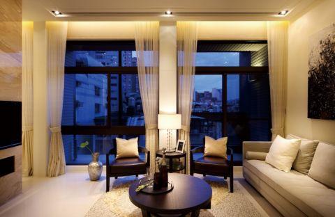 现代简约雅致二居室装修图片