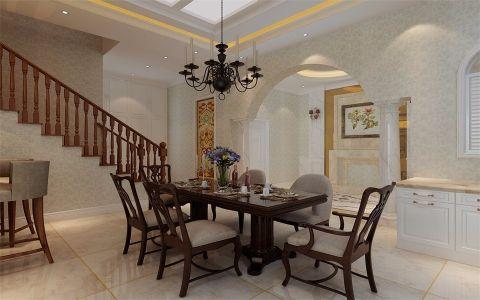 北塘古镇320平米简欧风格别墅装修设计