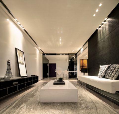 简约风格二居室装修实景案例图