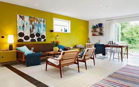 旭日景城90平米二居室北欧风格装修效果图